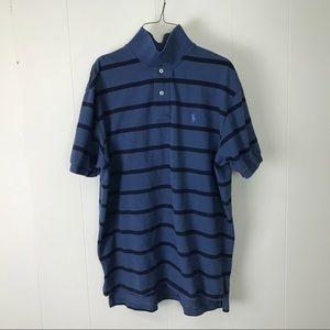 Ralph Lauren mens blue polo shirt XL